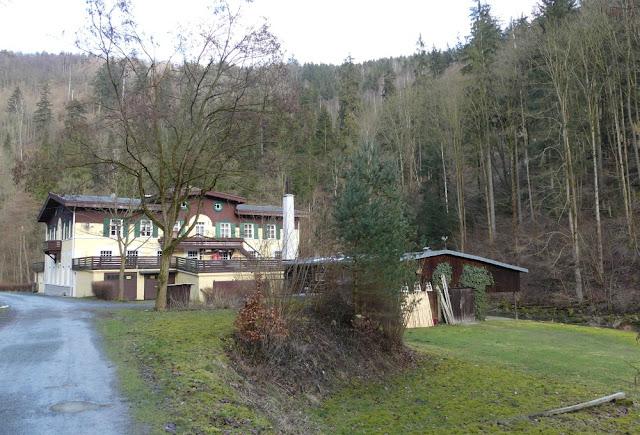 Altes Kraftwerk Höllenthal im Höllental, Frankenwald