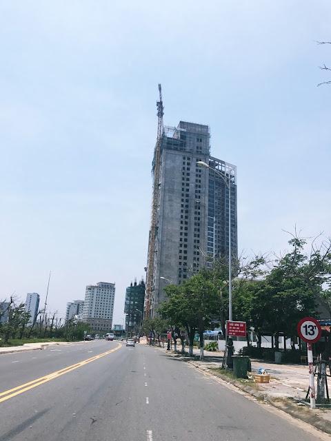 Tiến độ dự án Luxury Apartment Đà Nẵng ngày 04/05
