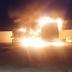 Transporte escolar e ambulância pegam fogo no município de Barra de Santana