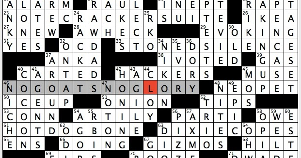 Rex Parker Does the NYT Crossword Puzzle: Greek city mentioned in