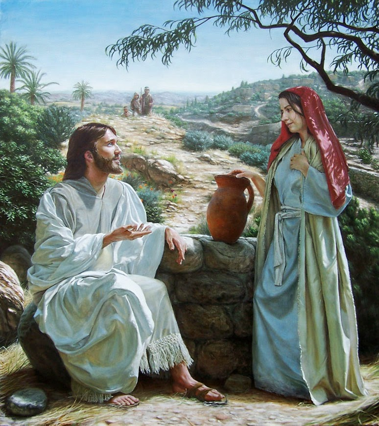 The woman knew that she was living in sin, and was therefore not able to worship God fully in her heart. So Jesus told her about living water and eternal life, and eventually revealed himself to her as the Messiah (John 4:25-26).