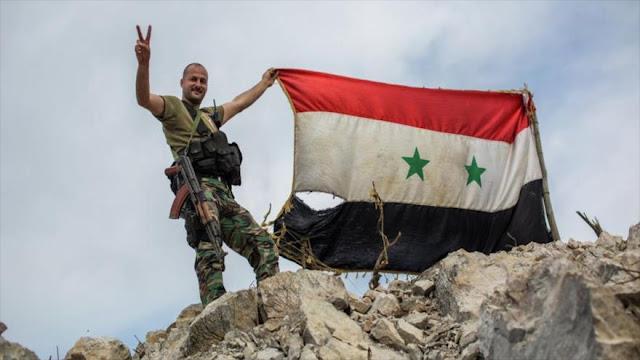 Siria recupera carretera Palmira-Deir Al-Zur y partes de Golán