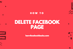 How to remove your Facebook page