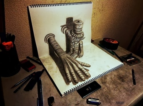 05-NAGAI-HIDEYUKI-Hide-永井-秀幸-3D-Pencil-Drawings-www-designstack-co