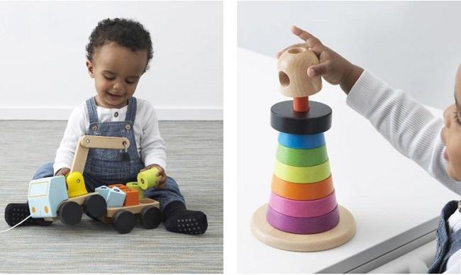 Navidad: serie de juguetes MULA de Ikea