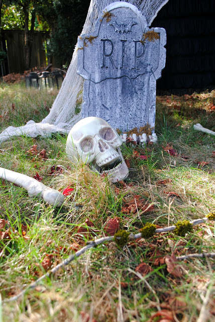 Start the party at your front door with these easy Halloween decorating tips