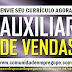 AUXILIAR DE VENDAS PARA BALÇÃO DE TELEFONIA EM EMPRESA NO SHOPPING PATTEO