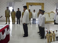 Walikota Bontang Kukuhkan Pengurus BAZNAS Periode 2017-2022