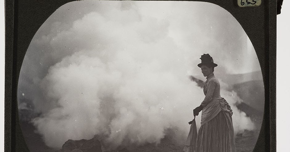 Early Photographs of Volcanoes and Avalanches Around the World Taken by Vulcanologist Tempest Anderson