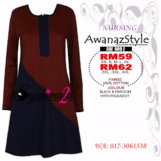 T-Shirt-Muslimah-Awanazstyle-AW009J