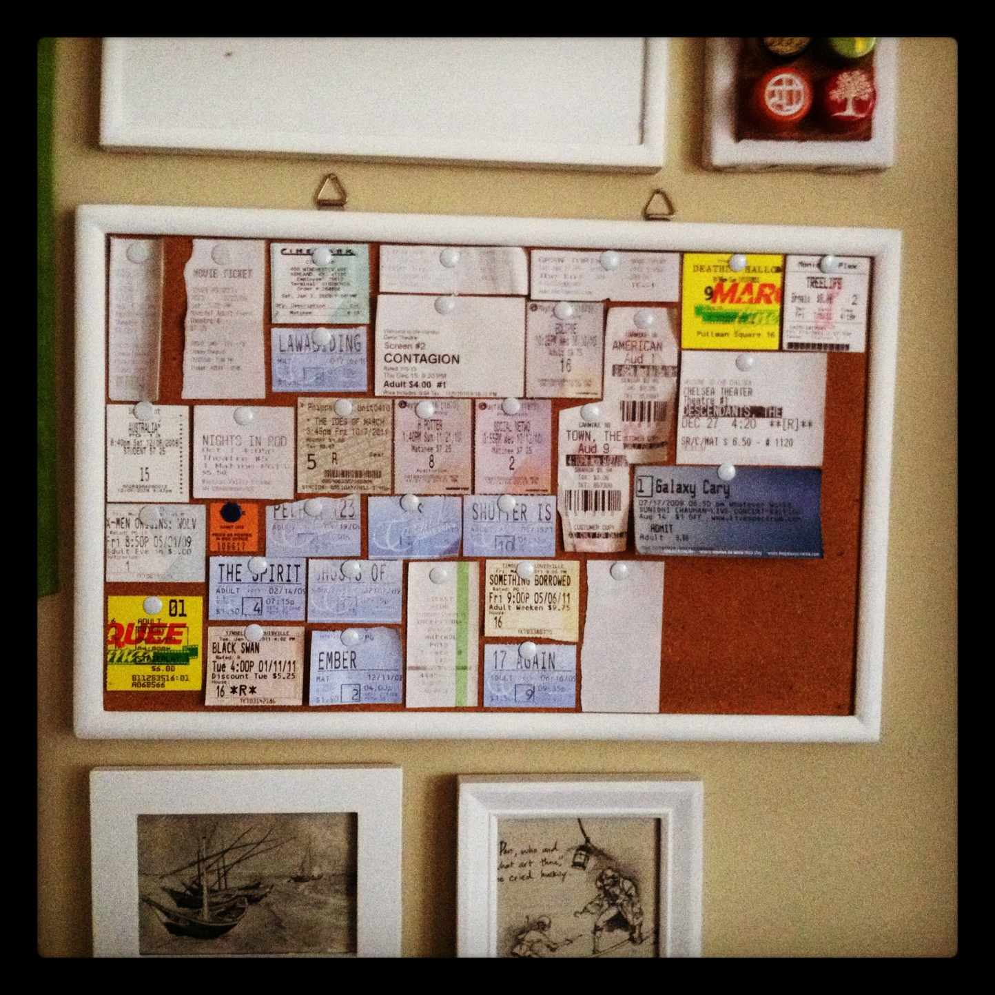 How To Make Your Own Movie Ticket Cork Board  Create Your Own Movie Ticket