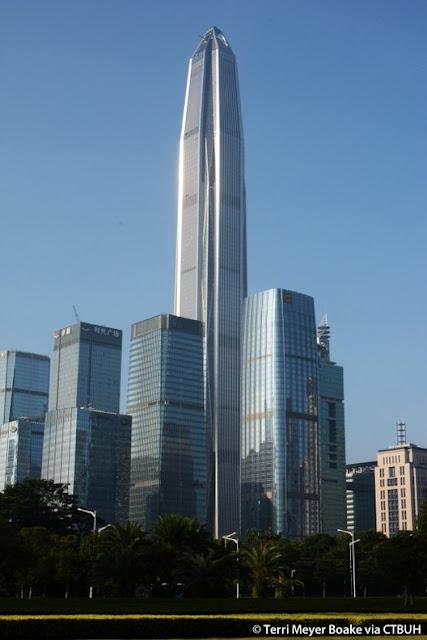tháp Ping An ở quận Phúc Điền Thẩm Quyến