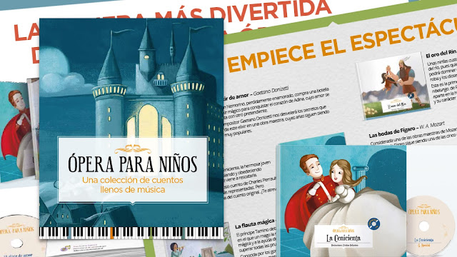 Promoción de ópera para niños