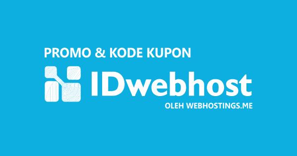 Promo IDwebhost Paket Bisnis Diskon 35% 2019