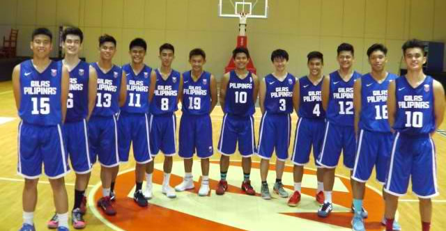 List of Batang Gilas Lineup/Roster 2016 SEABA Under-18 Championship