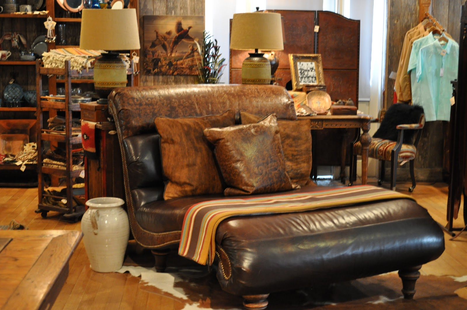King Ranch Leather Sofas Conceptstructuresllc Com