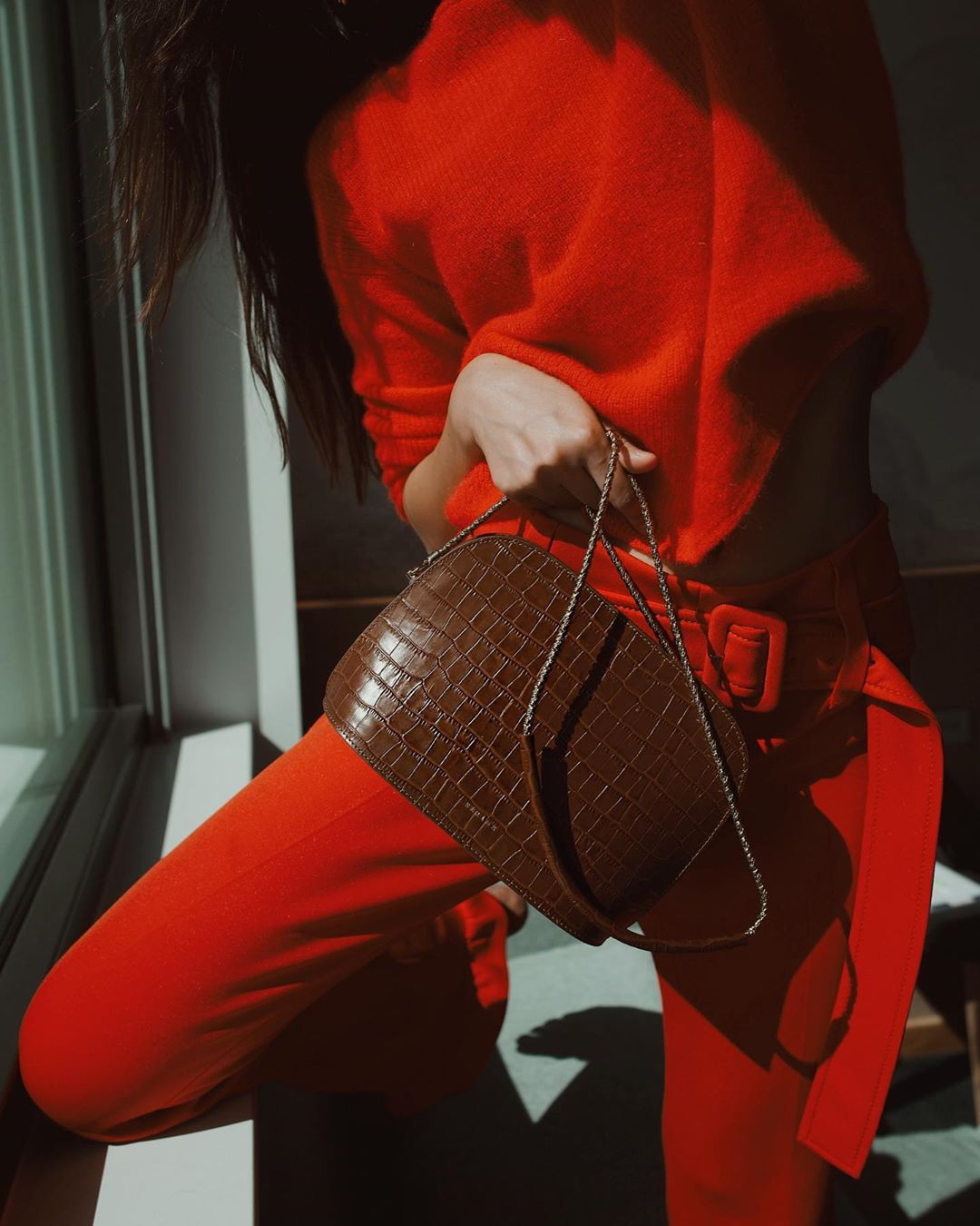 Everyone Is Wearing These Little Croc-Embossed Bags