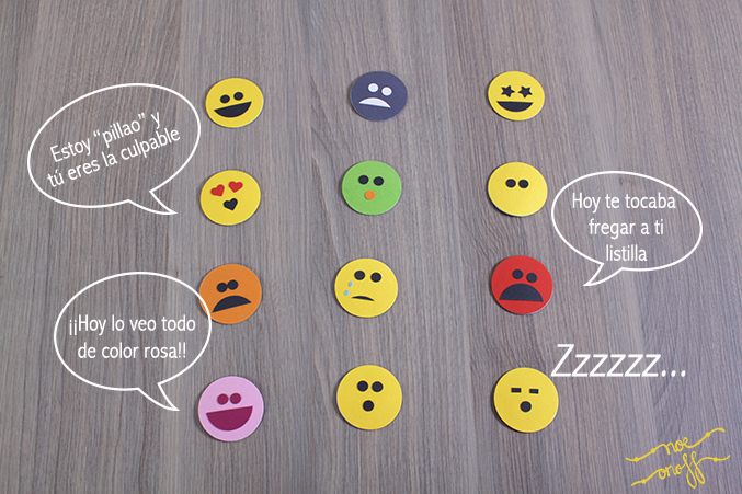 DIY emoticonos parejas