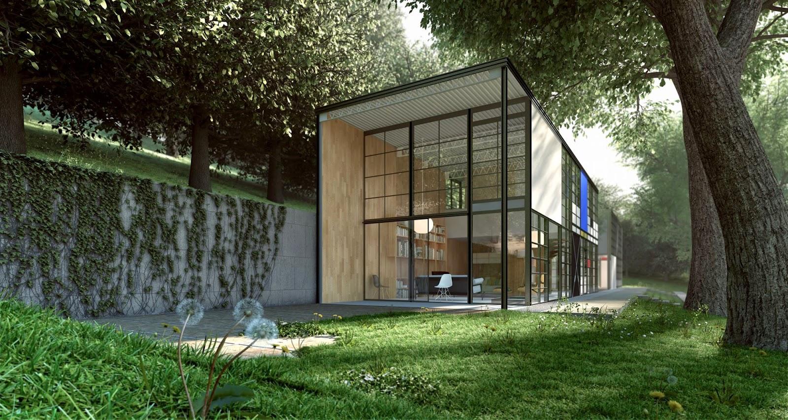 Building Plans For Small Cabins Casa Eames Eames House Arquitectura Asombrosa