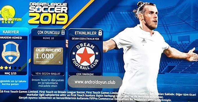 Dream LeagueSoccer 2019 V6.12 Mod APK Yeni Para  Futbolcu Hileli Hemen İndir.Mayıs 2019