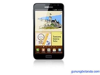 Download Firmware Samsung Galaxy Note GT-N7000B