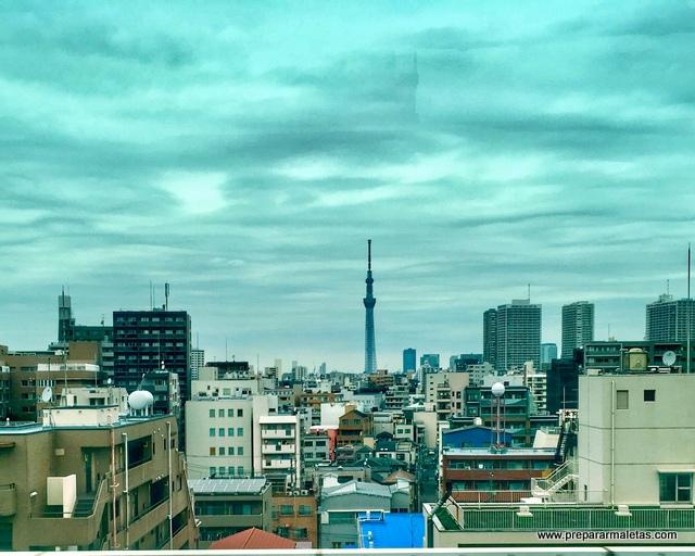 Tokyo SkyTree mirador de Tokio