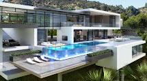 Mansion Modern House with Pool