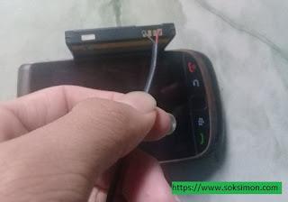 cara mudah memperbaiki munculnya tanda silang merah di hp blackberry