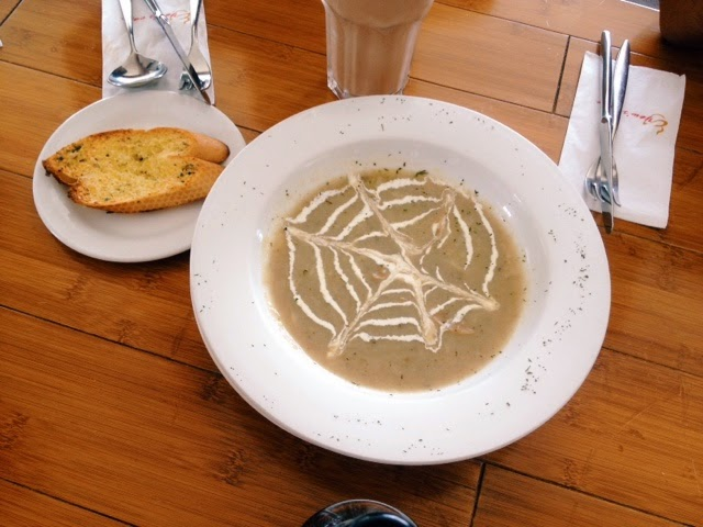 Yew's Mushroom Soup; Yew's Cafe & Bistro @ Senibong Cove, Johor Bahru, Malaysia