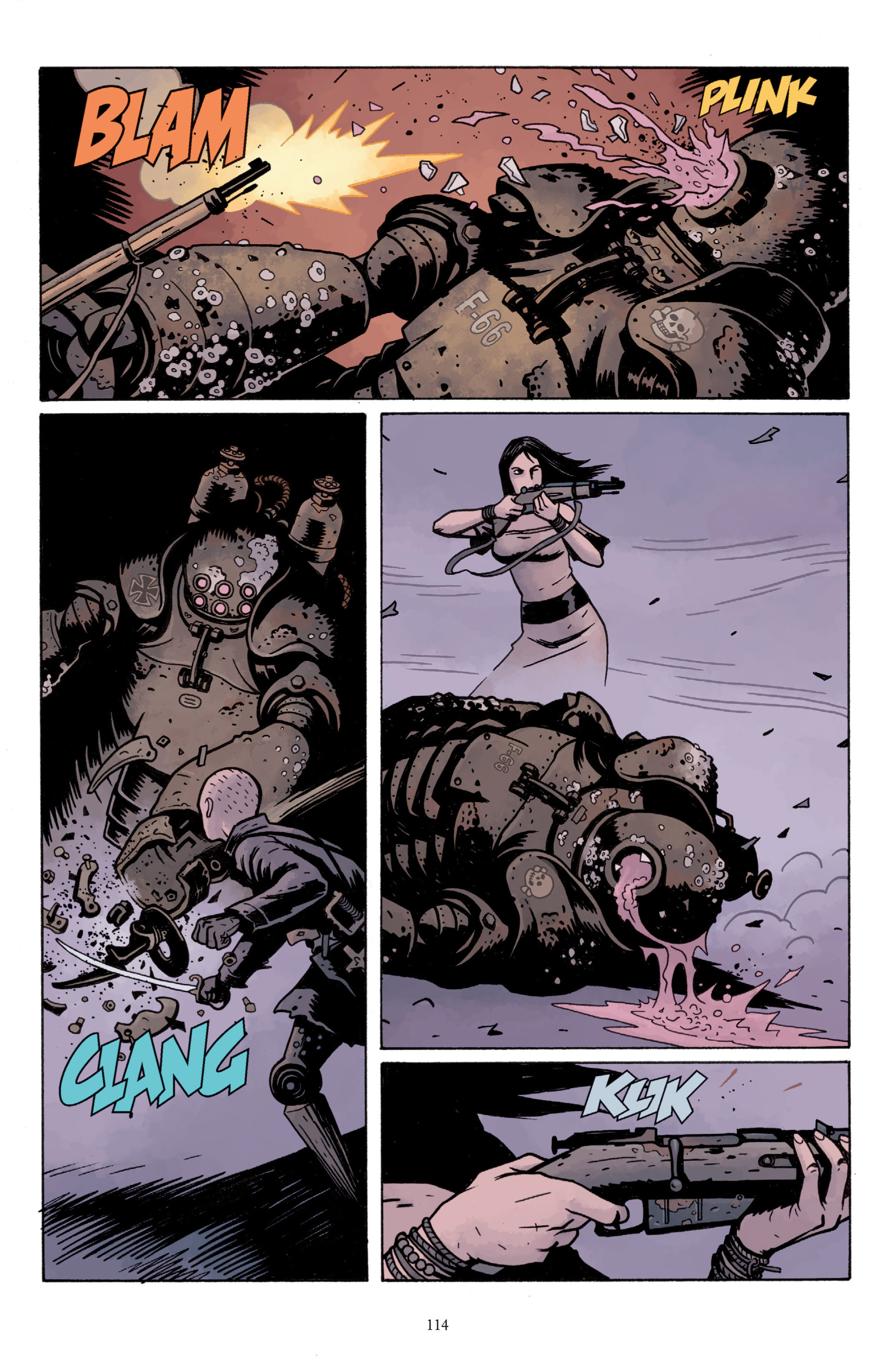 Read online Baltimore: The Plague Ships comic -  Issue # TPB - 113