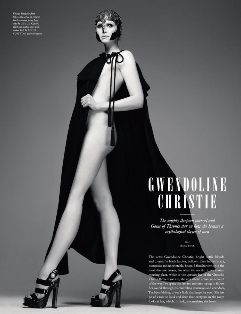 Gwendoline Christie Nude Pictures with regard to rimbaud: game of thrones / gwendoline christie