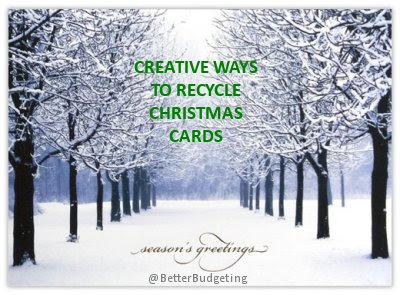 15 ways to recycle your Christmas cards