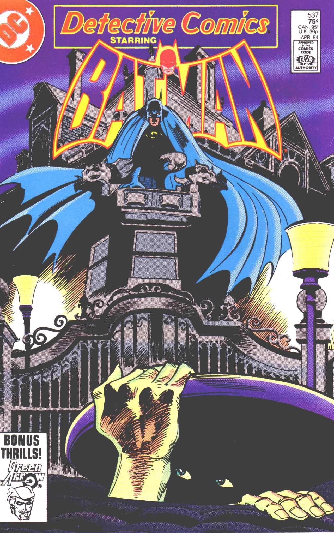 Detective Comics (1937) 537 Page 1