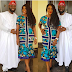 Curry Actress, Mercy Johnson Is All Smiles As She Attends Owanbe Party With Her Husband [Photos]