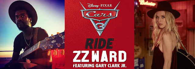 Cars 3 Ride ZZ Ward Gary Clark Jr