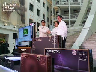 Lg Philippines Unveiling Of The Worlds No 1 Oled Tv At The
