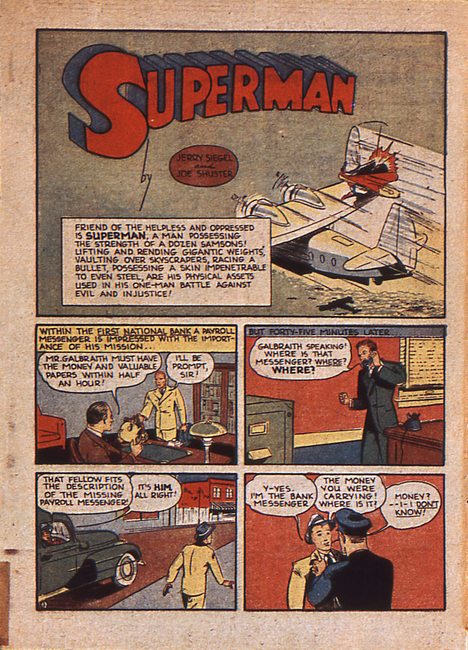 Read online Action Comics (1938) comic -  Issue #25 - 4