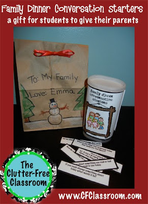 Christmas Holiday Gift Idea For Your Students To Make