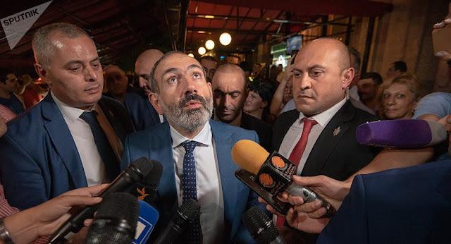 Pashinyan renuncia en discurso televisado (video)