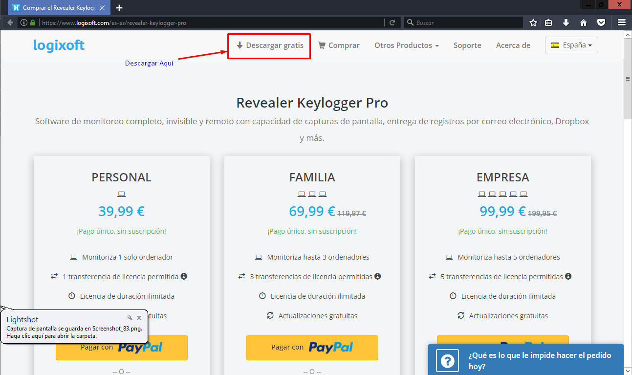 SOLVED] Password Revealer Pro error - Password Revealer