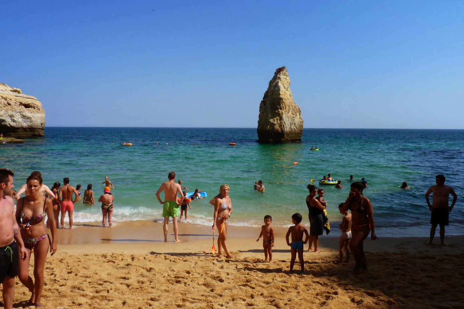 Praia do Carvalho.
