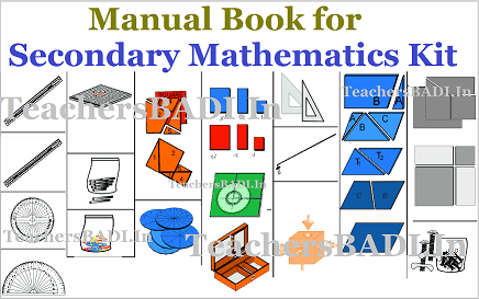 NCERT Secondary Mathematics kit,Manual Book,Maths Activities performing