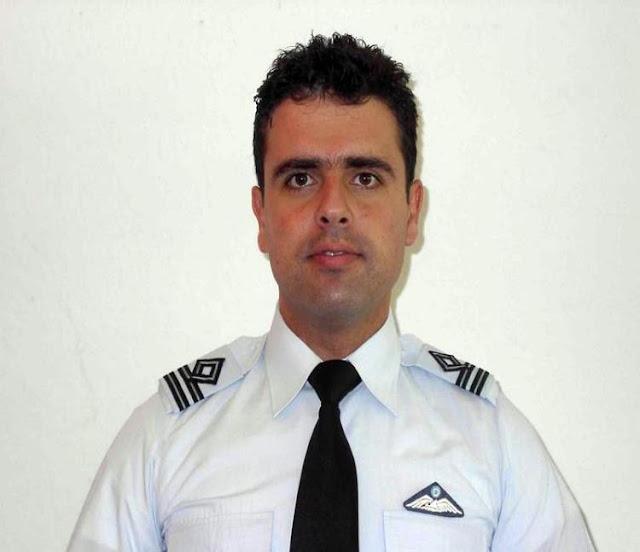 Αυτός είναι ο άτυχος κυβερνήτης του αεροσκάφος Τ-2 Buckeye που κατέπεσε βόρεια της Σπάρτης