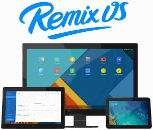 تحميل نظام التشغيل Remix OS