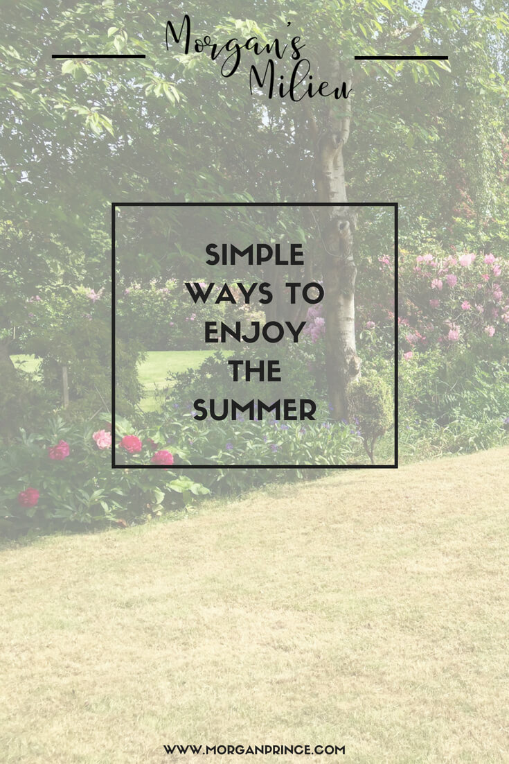 Here's a few simple ways to enjoy the summer without spending a fortune.