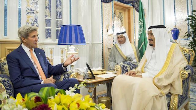 Kerry se reúne con el rey saudí para hablar de Yemen