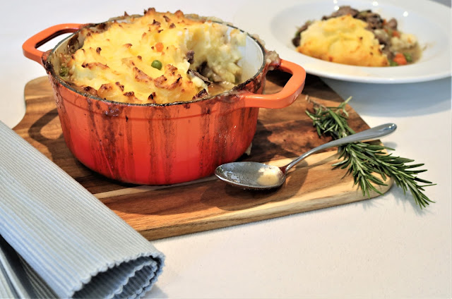 Shepherd?s Pie made with 10 Hour Slow-Cooked Lamb Shank