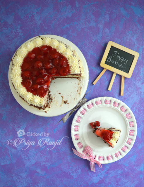 Blackforest cheesecake recipe