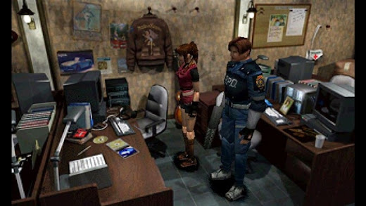 Resident Evil 2 PS1 ISO/CSO High Compress Free Download