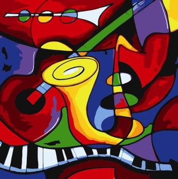Picasso Musique Abstraite Reproduction Tableaux De